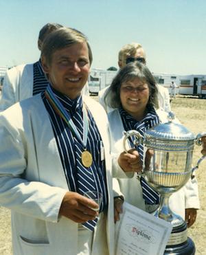 Markku Kuittinen MM-kultaa Australia 1987